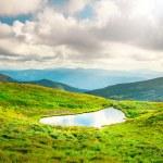 High mountain lake — Stock Photo #76791571
