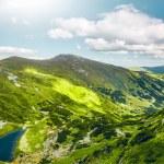 High mountain lake — Stock Photo #76804387