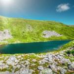 High mountain lake — Stock Photo #76805797