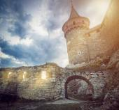 Castle in Kamianets-Podilskyi — Stock Photo