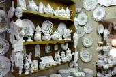 Ceramics shop — Stock Photo