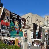 Posters, Avignon Theater Festival — Stock Photo