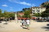 Boules (Petanque) game, French riviera  — Stock Photo