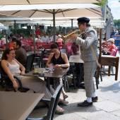 Annual Avignon Theater Festival — Stock Photo