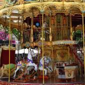 Carousel in Avignon — Stock Photo