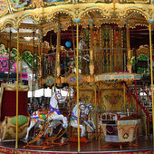Carousel in Avignon — Stock Photo