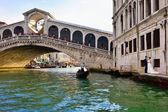Venice, Rialto bridge — Stock Photo