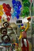 Murano glass shop — Stock Photo