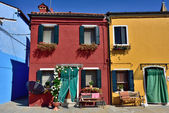 Burano island — Stock Photo