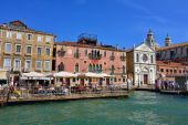 Venice urban life — Stock Photo
