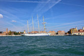 Luxury Sailfish Star Clipper in Venice — Foto de Stock