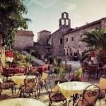 Montenegro, street cafe — Stock Photo #67181839