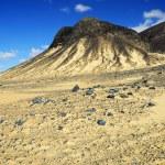 Black desert, Sahara, Egypt — Stock Photo #67828067