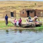 Uganda, Kazinga channel — Stock Photo #76174459