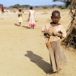 Children from Masai tribe — Stock Photo #76267843
