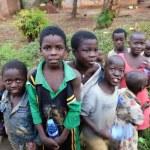 Uganda. African children — Stock Photo #76473933