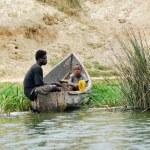 Fishermen, Uganda — Stock Photo #76473995