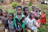 Uganda. African children  — Stock Photo