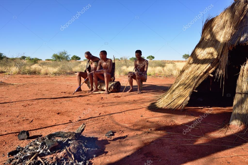 Travelling With The Bushmen Of The Kalahari