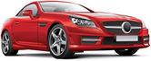 Germany  hardtop convertible — Stock Vector