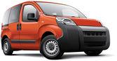 Italian leisure activity vehicle — Stock Vector