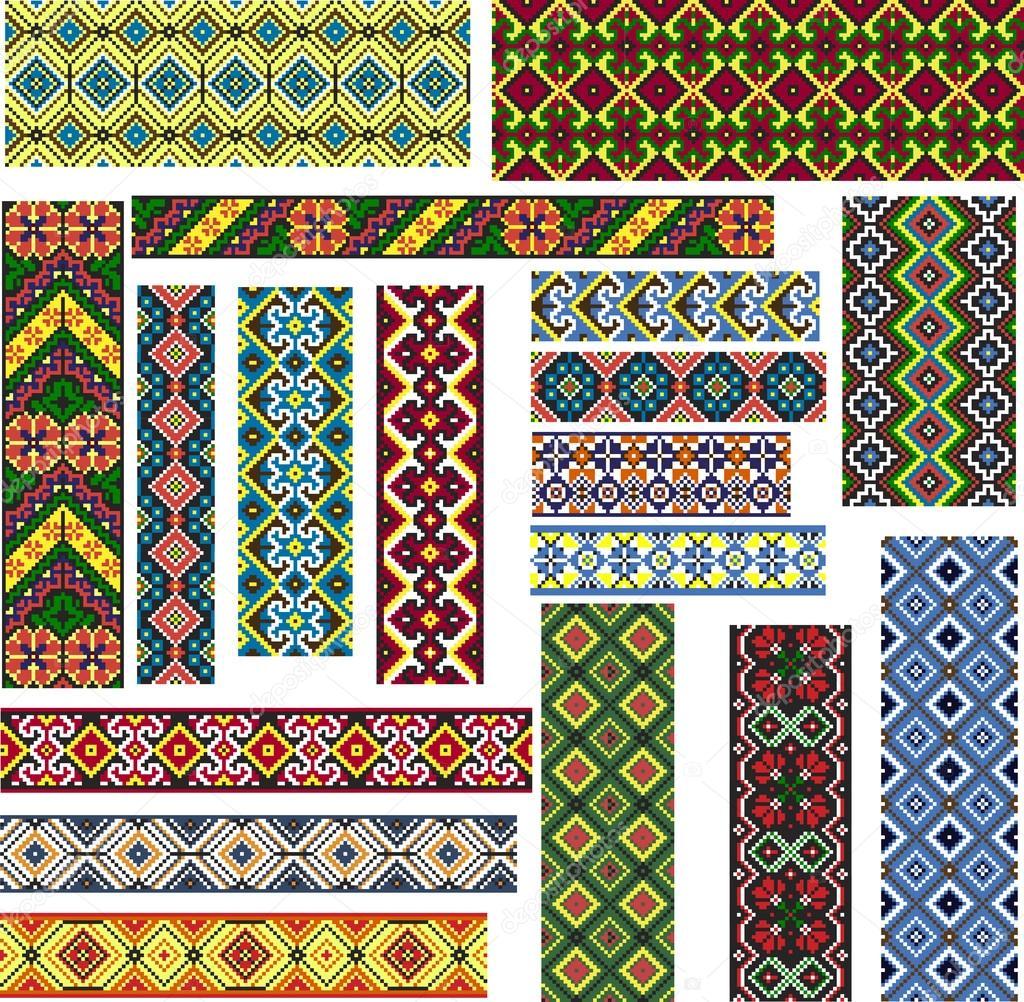 Этнический узор для вышивки 54