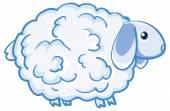 Cartoon lamb — Stock Vector