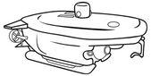 Sketch of Submarine — Stock Vector