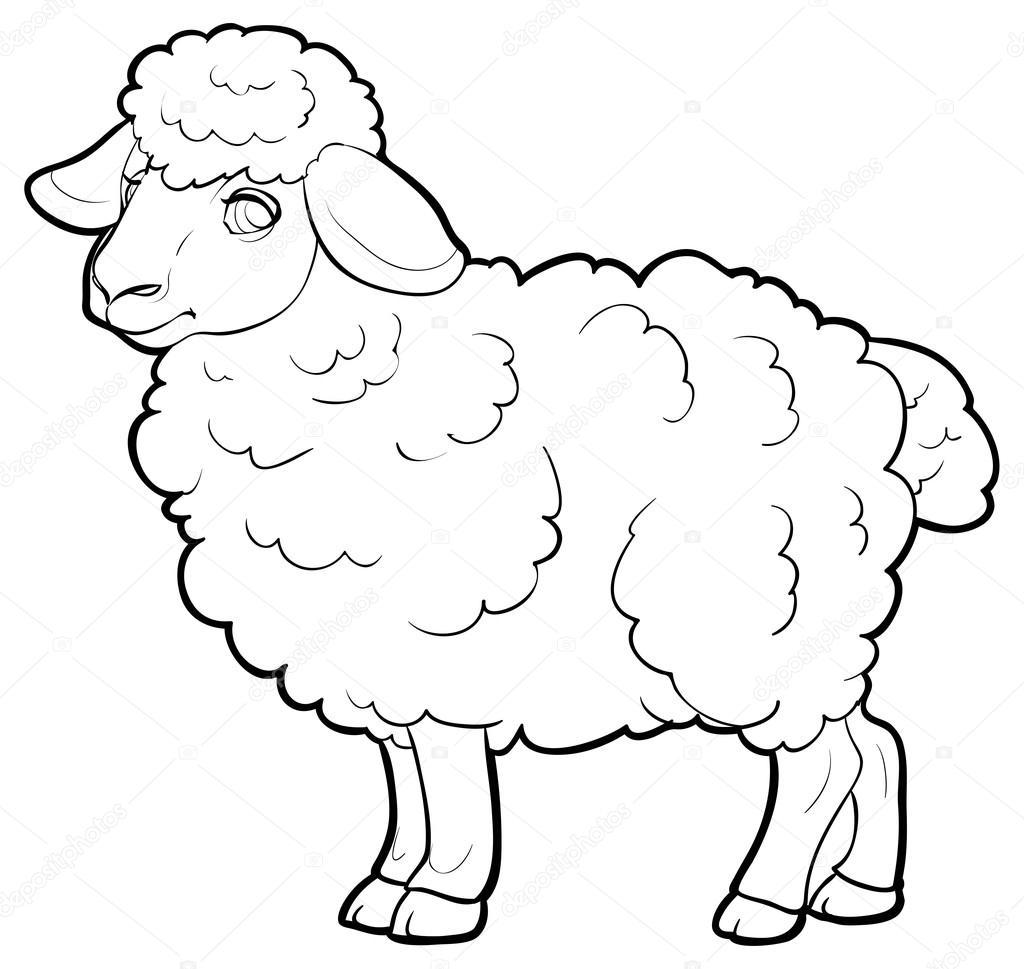 Agneau de dessin anim image vectorielle kopirin 58287033 - Dessin agneau ...
