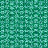 Зеленый бесшовный образец — Cтоковый вектор