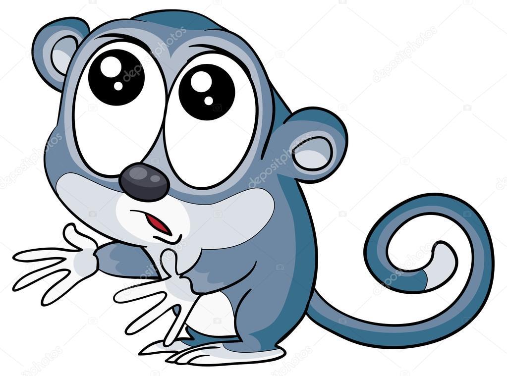 卡通搞笑狐猴 — 图库矢量图像08