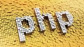 Pixelated PHP — Stock Photo