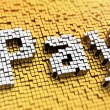 Pixelated Pay — Stock Photo #52092857