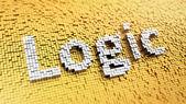 Pixelated Logic — Stock Photo