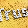 Pixelated Trust — Stock Photo #52731441