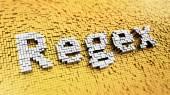 Pixelated regex — Стоковое фото