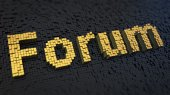 Forum cubics — Stock Photo