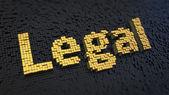 Legal cubics — Stock Photo