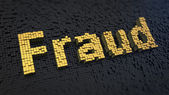 Fraud cubics — Stock Photo