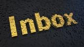 Inbox cubiche — Foto Stock