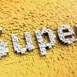 Pixelated Super — Stock Photo #55321683