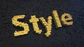 Style cubics — Stockfoto
