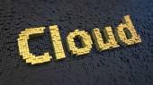 Cloud cubics — Stockfoto