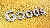 Pixelated Goods — Stock Photo