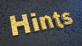Hints cubics — Stok fotoğraf