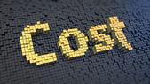 Cost cubics — Stock Photo