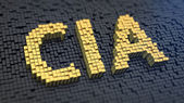 CIA cubics — Stock Photo