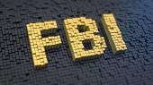FBI cubics — Stock Photo