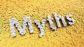 Pixelated Myths — Foto Stock