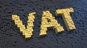 VAT cubics — Stock Photo